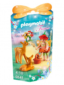 Playmobil Fairies Fairy Girl with Fawns