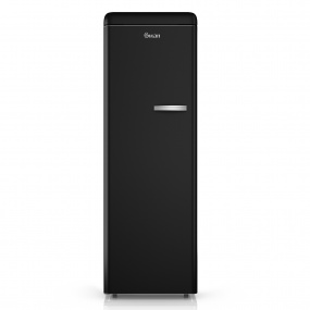 Swan Retro Black Tall Freezer