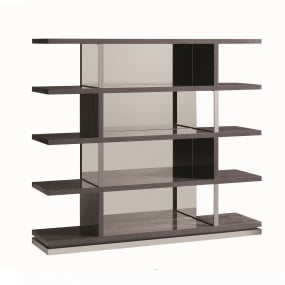 Bella High Gloss Bookcase