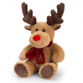 20cm Reindeer Plush With Scarf | Housing Units