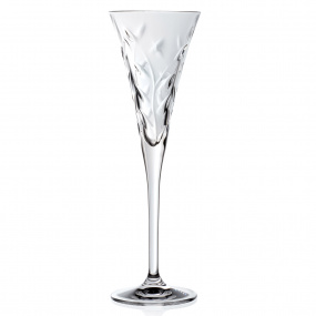 RCR Laurus Set of 6 Champagne Flutes