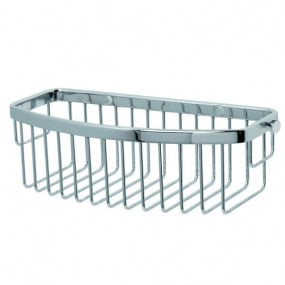 Miller D Shaped Chrome Single Basket