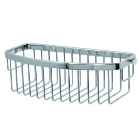 Miller D Shaped Chrome Single Basket