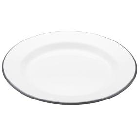 Living Nostalgia Enamel 24cm Dinner Plate