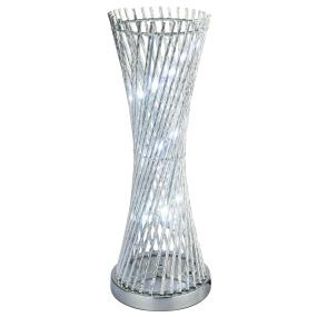 Globo Rebec Aluminium Colour Changing Table Lamp