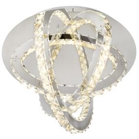 Globo Juna LED Semi Flush Ceiling Light