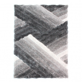Verge Lattice Grey 120cm x 170cm Rug
