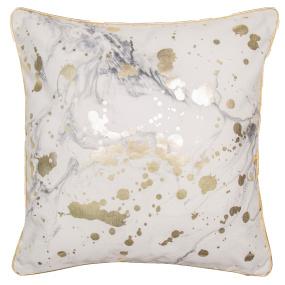 Malini Marmia Marble Splatter Cushion