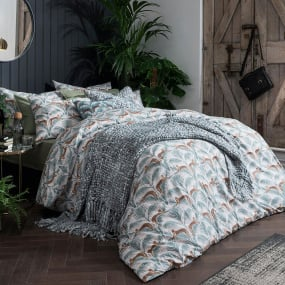 Fat Face Lounging Leopards Bedding Collection