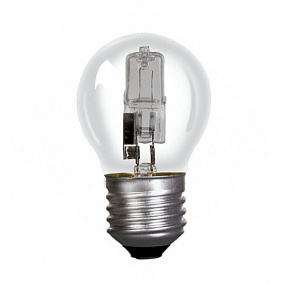 Crompton Halogen Clear Golf Ball ES E27 28W Light Bulb