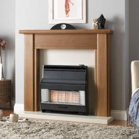 Valor Firelite Radiant Black Gas Fire