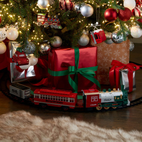23 Piece Christmas Train Set | Housing Units