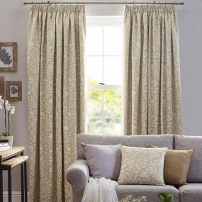 Belfield Elenor Ochre 66x72 Curtains
