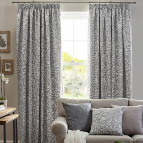 Belfield Elenor Dove Grey 66x72 Curtains