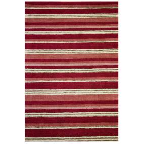 Supreme Handloom Berry 120cm x 180cm Rug