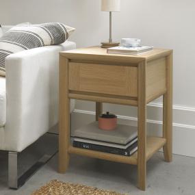Odessa Oak Lamp Table