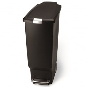 Simplehuman 40 Litre Black Slim Pedal Bin