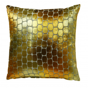 Scatter Box Ariel Gold Cushion