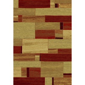 Galleria Red and Orange Rug Collection