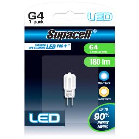 Supacell G4 2W LED Capsule Warm White Light Bulb