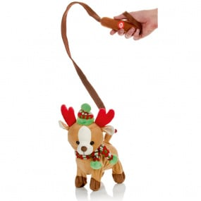 Battery Operated Walking and Singing Fawn Reindeer   Housing Units