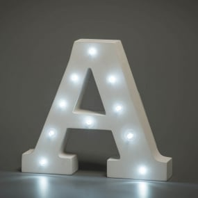 Light Up Letter - A