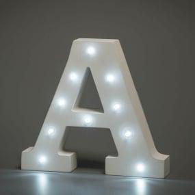 Light Up Letter - A