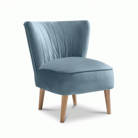 Plush Teal Accent Emperor Chair