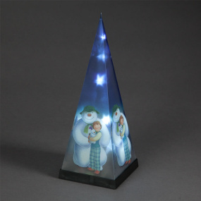 35cm The Snowman and Snowdog Christmas Pyramid Light | Housing Units