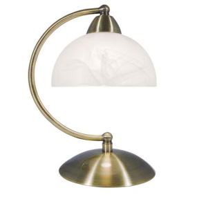 Saxby Touch Antique Brass Desk Lamp