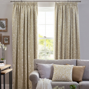 Belfield Elenor Ochre 90x90 Curtains