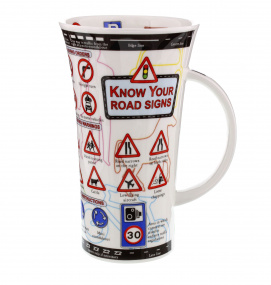 Know Your Road Signs Novelty Mug