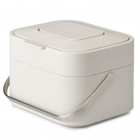 Joseph Joseph Stack 4 Food Waste Caddy in Stone