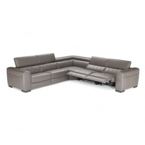 Natuzzi Editions Forza Reclining Leather Sofa & Corner Group Collection