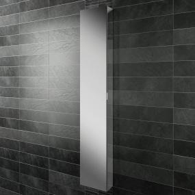 Eris 30 Non Illuminated Aluminium Bathroom Cabinet