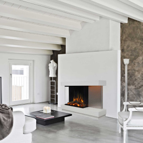 Evonic Fires Omega Electric Fireplace Suite