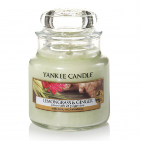 Yankee Candle Lemongrass and Ginger Small Jar