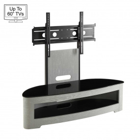 "Jual JF209 Curve Grey TV Stand for up to 60"" TVs"