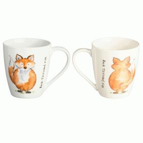 Price & Kensington Back to Front Fox Mug