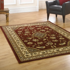 Sincerity Sherbourne Red 80cm x 150cm Rug