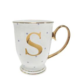 Alphabet Spotty Mug - S