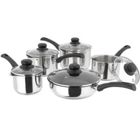 Judge Vista 5 Piece Pan Set with Draining Lids
