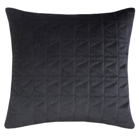 Karl Lagerfeld Quilted Black Cushion
