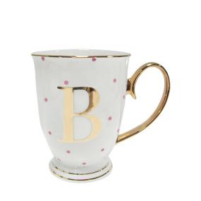 Alphabet Spotty Mug - B