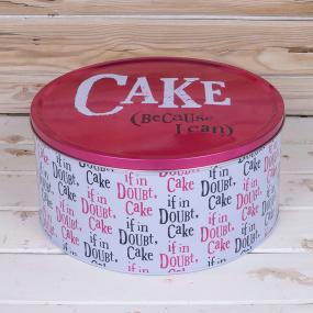 'Because I Can' Large Cake Tin