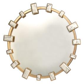Marble Effect Insert Mirror