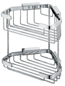 Vado Large Double Triangular Corner Basket