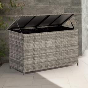 Supremo Valencia Rattan Garden Storage Box - Lifestyle | Housing Units