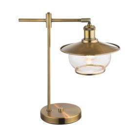 Globo Nevis Antique Bronze Table Lamp