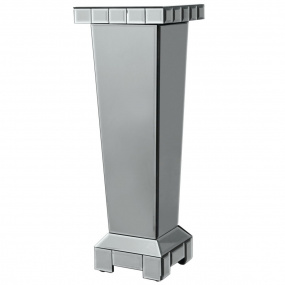 Classic 80cm Tapered Mirrored Pedestal